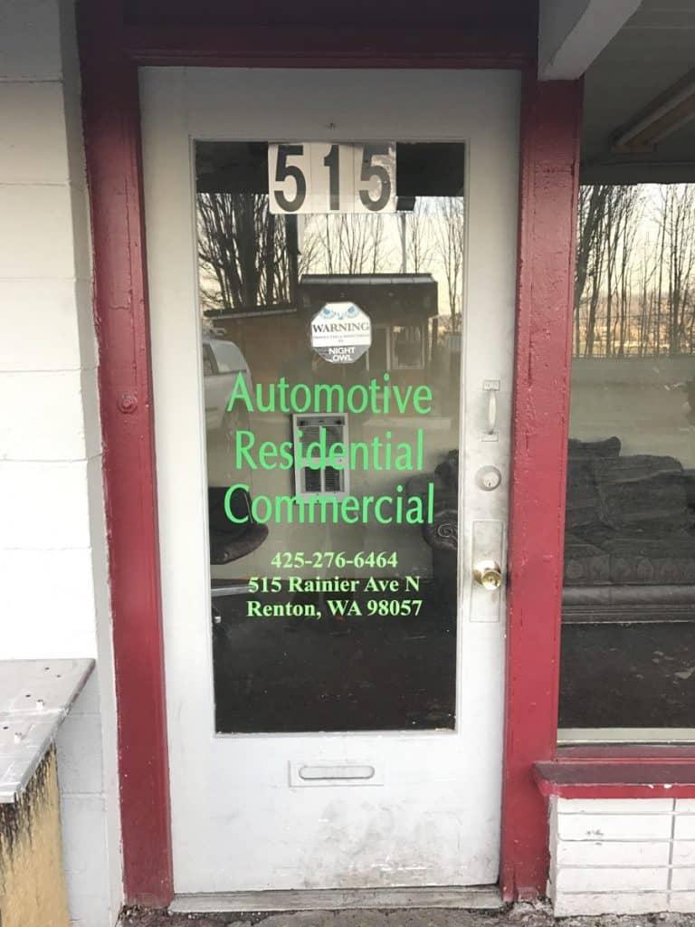 locksmith renton